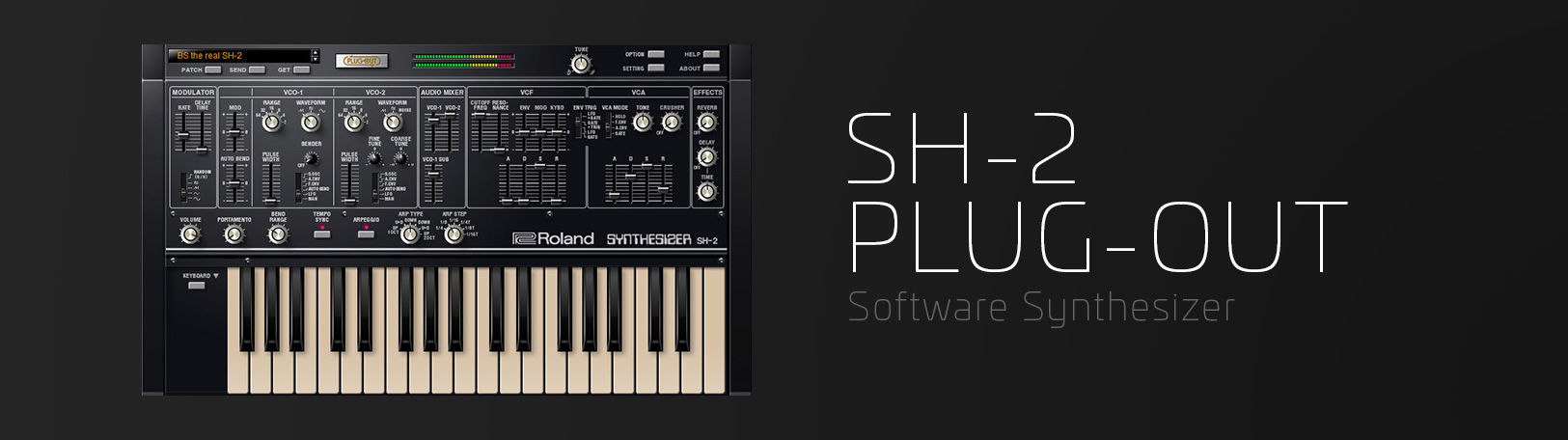 SH-2: Synth Software - ACB Virtual Synth - VST Plugin | Roland Cloud