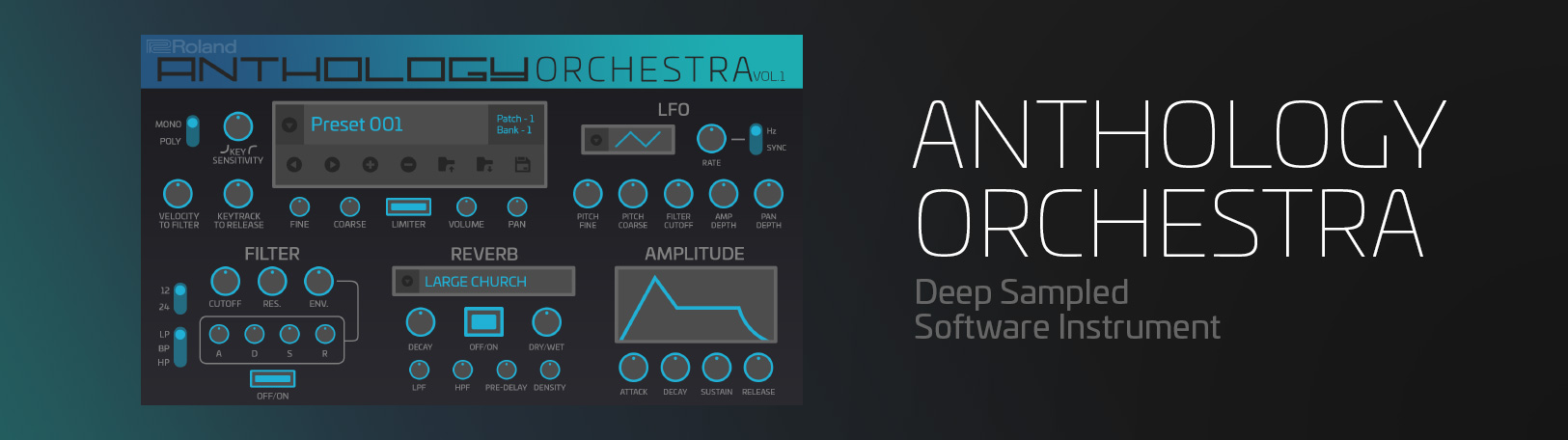 Anthology Orchestra Virtual Synth - VST Plugin | Roland Cloud