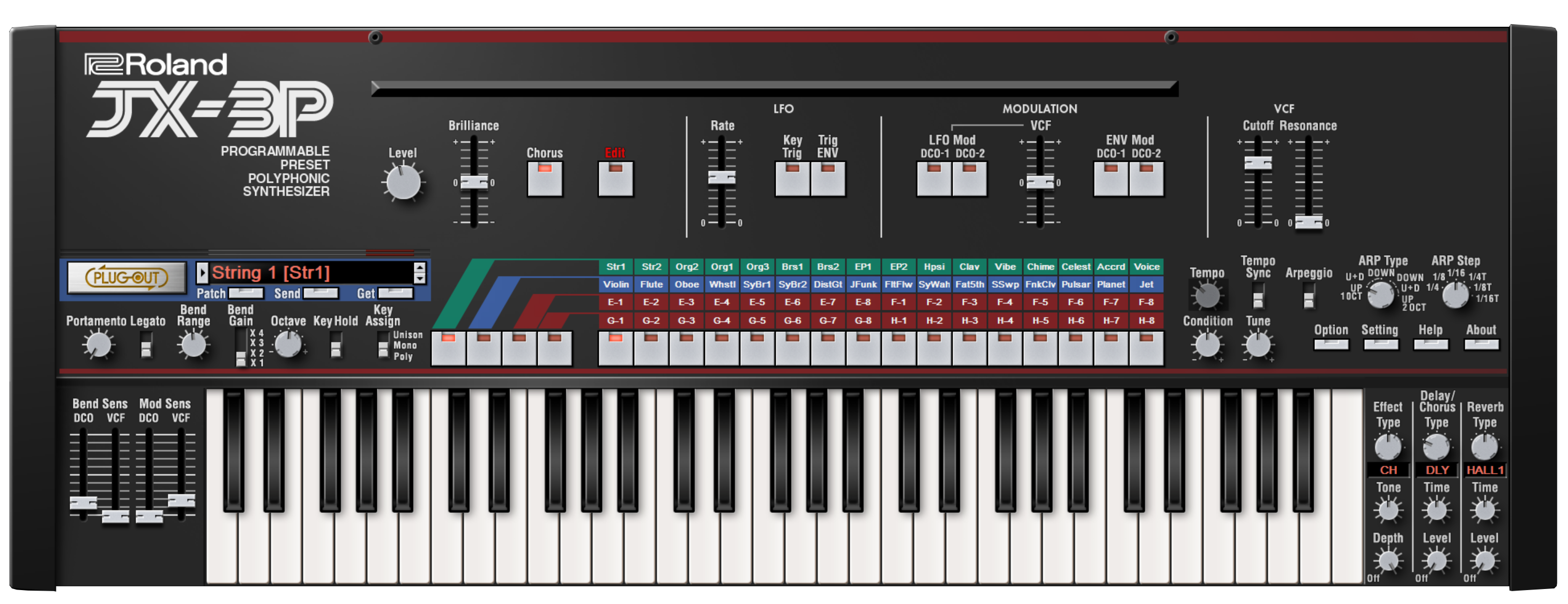 Legendary: Roland Analog and Digital Synthesizer Software