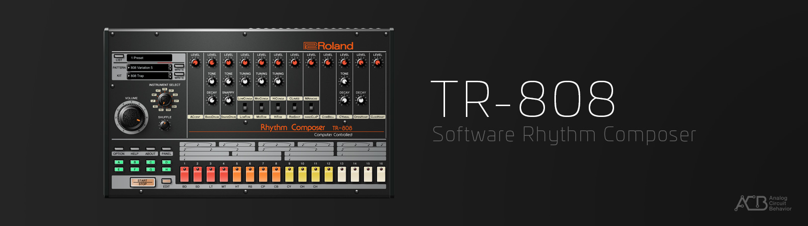 TR-808: Synth Software - ACB Virtual Synth - VST Plugin