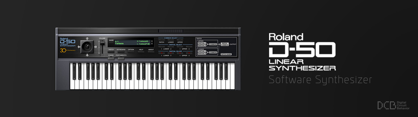 D-50: Synth Software - DCB Virtual Synth - VST Plugin | Roland CLoud