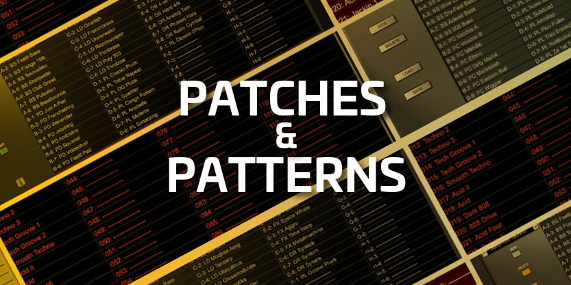 Patches & Patterns Now Available!